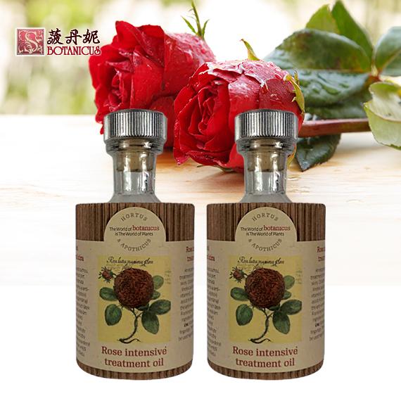 玫瑰芳香潤膚油 100ml 玻二瓶